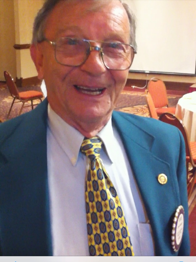 Rotarian David McKain