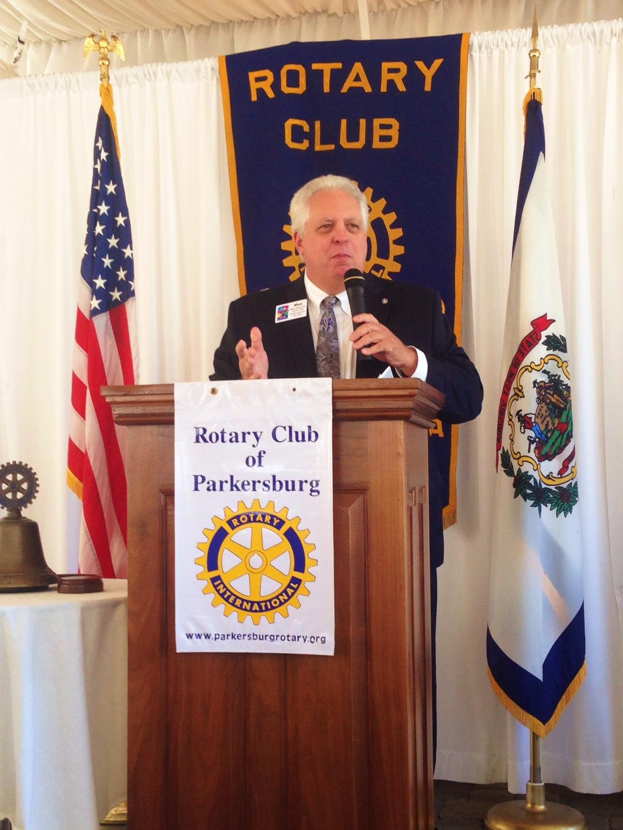Rotary District 7530 Governor Mike Kirkpatrick