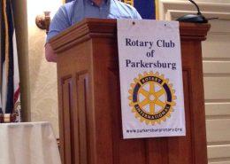 Mark Rhodes speaks